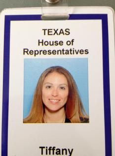 Intern at the Texas State Capitol
