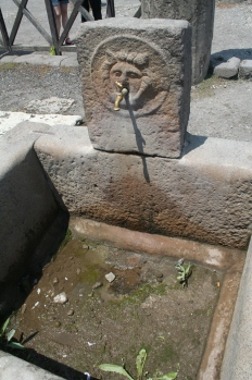 Pompeii fountain