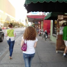 Walking downtown Austin